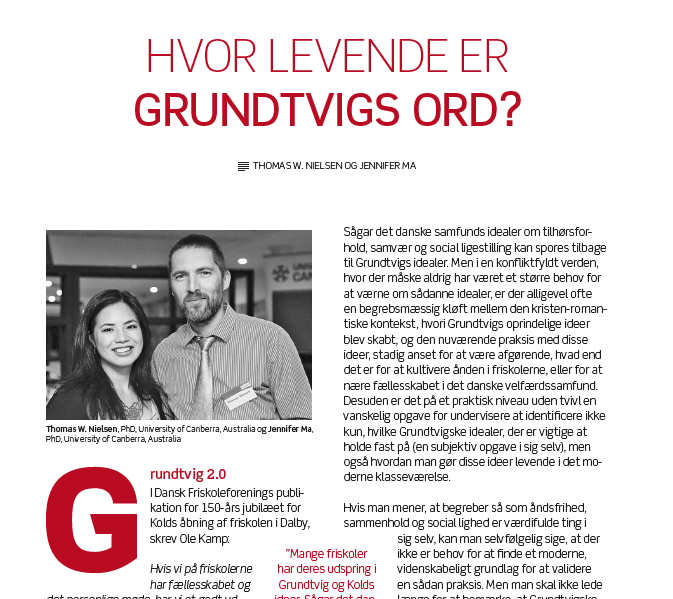 How Living is Grundtvig's Word?